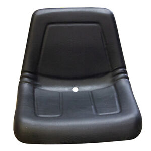 Universal Deluxe High Back Seat Fits Lawn Mowers Garden Tractors Small Backhoes