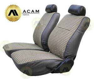 Toyota Land Cruiser Fj60 Fj62 Front Two Seats Covers Set Brown