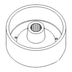 Brake Drum Sba328510081 Fits Ford Fits New Holland Tractor 1300 1310 1500 1510 1