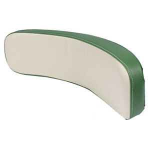Green White Seat Backrest Cushion For Oliver Tractor 1550 1750 1850 1950