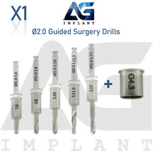 2 0 Guided Surgery Straight Drill External Irrigation Tool Dental Implant