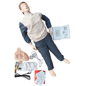 Cpr Training Manikin Artificial Respiration Teach Model Study 110 220v Lab Care