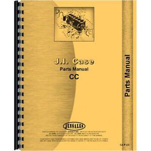Parts Manual For Case C Tractor