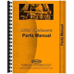 Allis Chalmers Baler Parts Manual ac p rotobaler