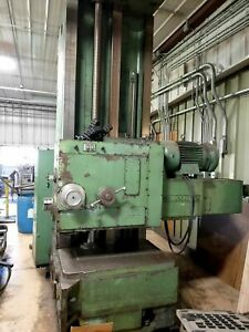 1965 Giddings Lewis 65 h5 t Cnc Horizontal Boring Mill