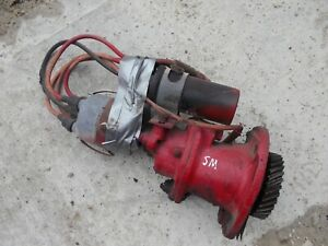 Farmall Super M Sm Tractor Ih Distributor Drive Assembly Wires Coil