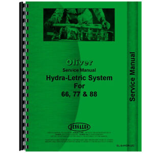 Service Manual For Oliver 77 hydra lectric System