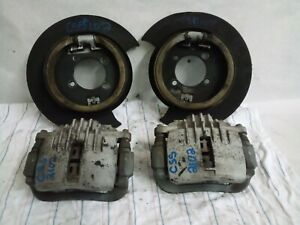 1998 04 Chevrolet S10 Camaro Rear Backing Plates Calipers Set Oem 102