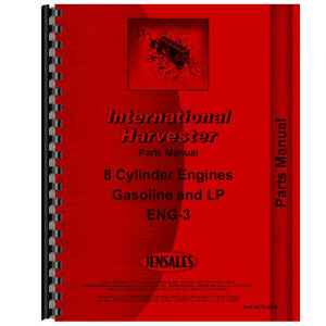 New Tractor Parts Manual For International Harvester 815