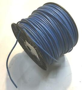 Blue 12 Awg Thhn Stranded Wire 11 6 Lb Spool Nos