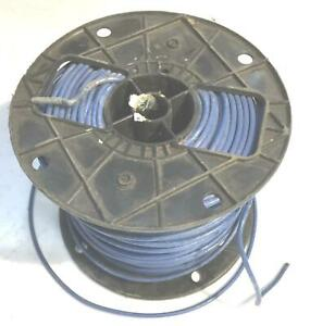 Blue 12 Awg Thhn Stranded Wire 9 6 Lb Spool Nos