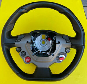 Ferrari 458 All Models Steering Wheel Oem Absolute Perfect Condition