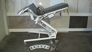 Stille Sonesta 6205 Urology Gynocology Medical Table Chair With Footswitch