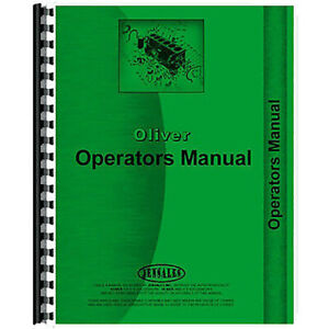 Operator s Manual For Oliver 1095 Row Crop Cultivator 2 Row
