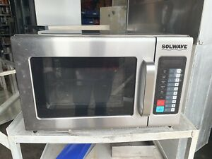 Solwave 1800w Commercial Microwave 220v 1 Phase Heavy Duty