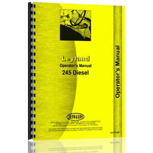 Operator Manual For Leyland Tractor ley o 245