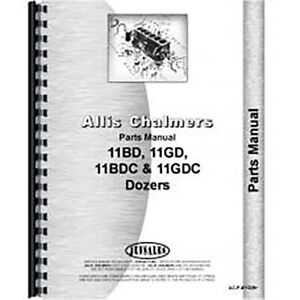 Parts Manual Made For Allis Chalmers Ac Tractor Model Hd11