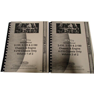 Service Manual For White 2 135 Tractor diesel Only
