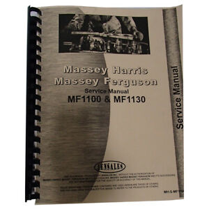 Service Manual For Massey Ferguson 1130 Tractor