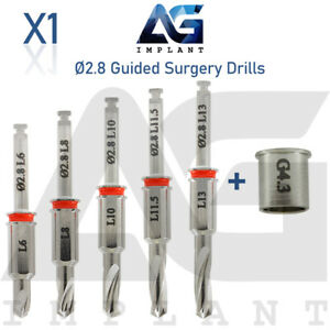 2 8 Guided Surgery Straight Drill External Irrigation Tool Dental Implant
