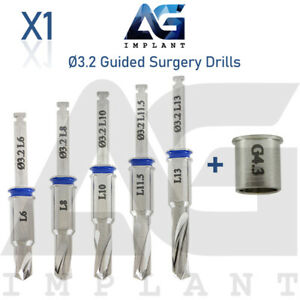 3 2 Guided Surgery Straight Drill External Irrigation Tool Dental Implant