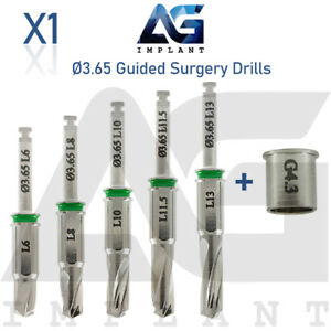 3 65 Guided Surgery Straight Drill External Irrigation Tool Dental Implant