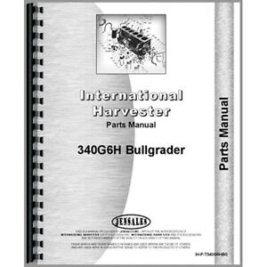 New International Harvester T340 Crawler Attachment Parts Manual