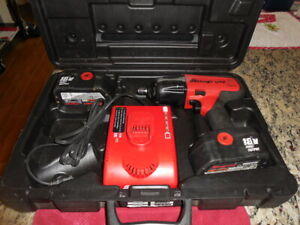 Snap On Ct6850 Impact Wrench Set Has 1 Rebuilt 18v Battery 1 Extra
