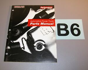 1995 Ingersoll Rand Automotive Power Tools Parts Manual Edition 5 6499 B6