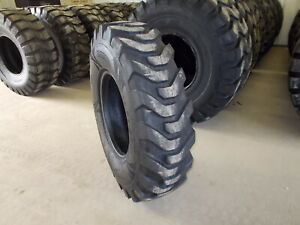 Two 14 00 24 12 Ply G2 New Grader Tires