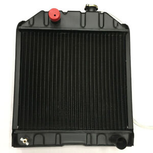 4 Row C7nn8005h Radiator Fits Ford Tractors 2000 2600 3000 3600 4000