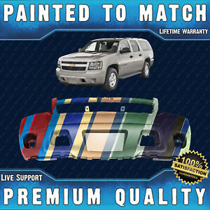 New Painted To Match Front Bumper Cover For 2007 2014 Chevy Suburban Tahoe 07 14