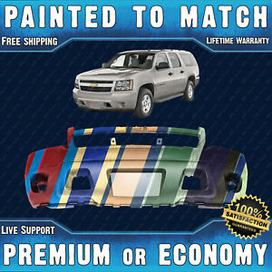 New Painted To Match Front Bumper Replacement For 2007 2014 Chevy Suburban Tahoe