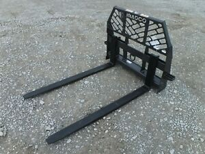 Bradco 60 Long 5 500 Pound Pallet Forks Fork Fits Bobcat Skid Steer Loader