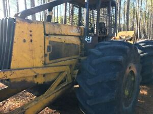 648 John Deere Logging Grapple Skidder