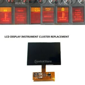 Vdo Fis Cluster Lcd Display Screen Replacing Kit For Vw Audi Version A4 A6 B5 C5