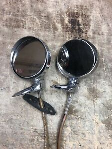 Vintage 1968 Mopar Chrysler Newport Right Left Mirror Aadgc60179 402 And 422
