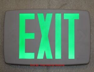 Lithonia Lighting Led Emergency Exit Sign One Or Two Sided