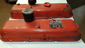 Vintage Big Block Chevy Valve Covers