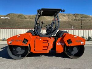Hamm Hd110hv Vibratory 10 5 Ton Roller 1425 Hours Only 66 Inch Drums Ex Ca City