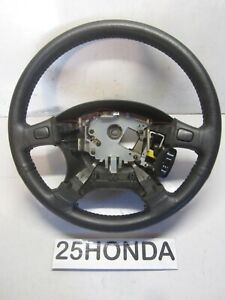 94 01 Acura Integra Gsr 92 95 Honda Civic Del Sol Leather Steering Wheel Dc2 Eg2