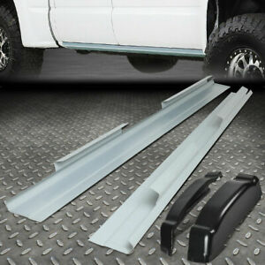 For 99 07 Chevy Silverado Sierra 4dr Crew Cab Rocker Panels And Cab Corners Kit