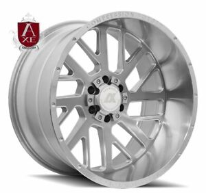 24x14 Axe 2 1 Compression Forged Polished Wheels 8x6 5 Dodge Chevy 8x165 1
