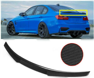 Carbon Fiber Rear Trunk Spoiler M4 Style Fit For Bmw E92 320i 328i 335i Coupe
