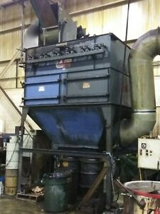 Torit Donaldson Td 4600 255 Dust Collector 10 000 Cfm W vibratory Cleaner