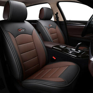 Us Car 5 Seat Pu Leather Seat Covers For Toyota Camry Corolla Rav4 Front Rear
