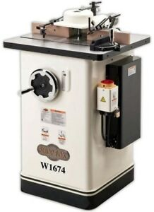 Woodstock shop Fox W1674 2 Hp Shaper perfect For Any Size Shop