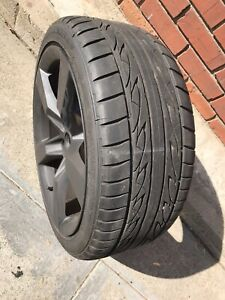 One Chevy Camaro Ss Rear Wheel Rim With New Firestone Tire 2010 Up 2 Available