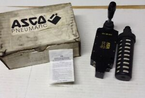 Asco Pneumatic 55100034 Joucomatic Valve With Lever And Gast Filter