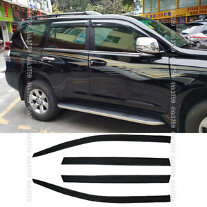 For Toyota Land Cruiser Prado 2010 2019 Window Visors Rain Guard Vent Deflectors